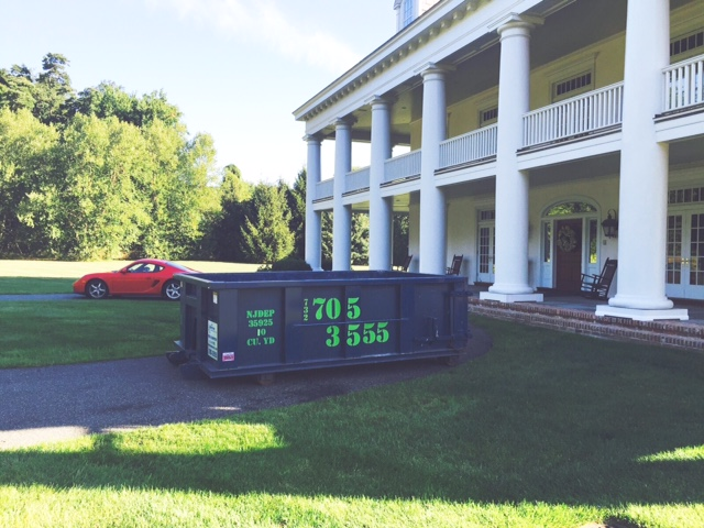 Nj Roll Off Container Rentals Dumpster Sizes Hometown