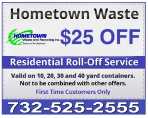 25 Dollars Off Dumpster Rental