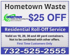 25 Dollars Off Dumpster Rental