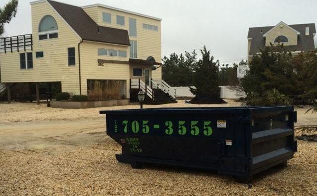 10-yard-dumpster-on-beach-in-ocean-county-nj