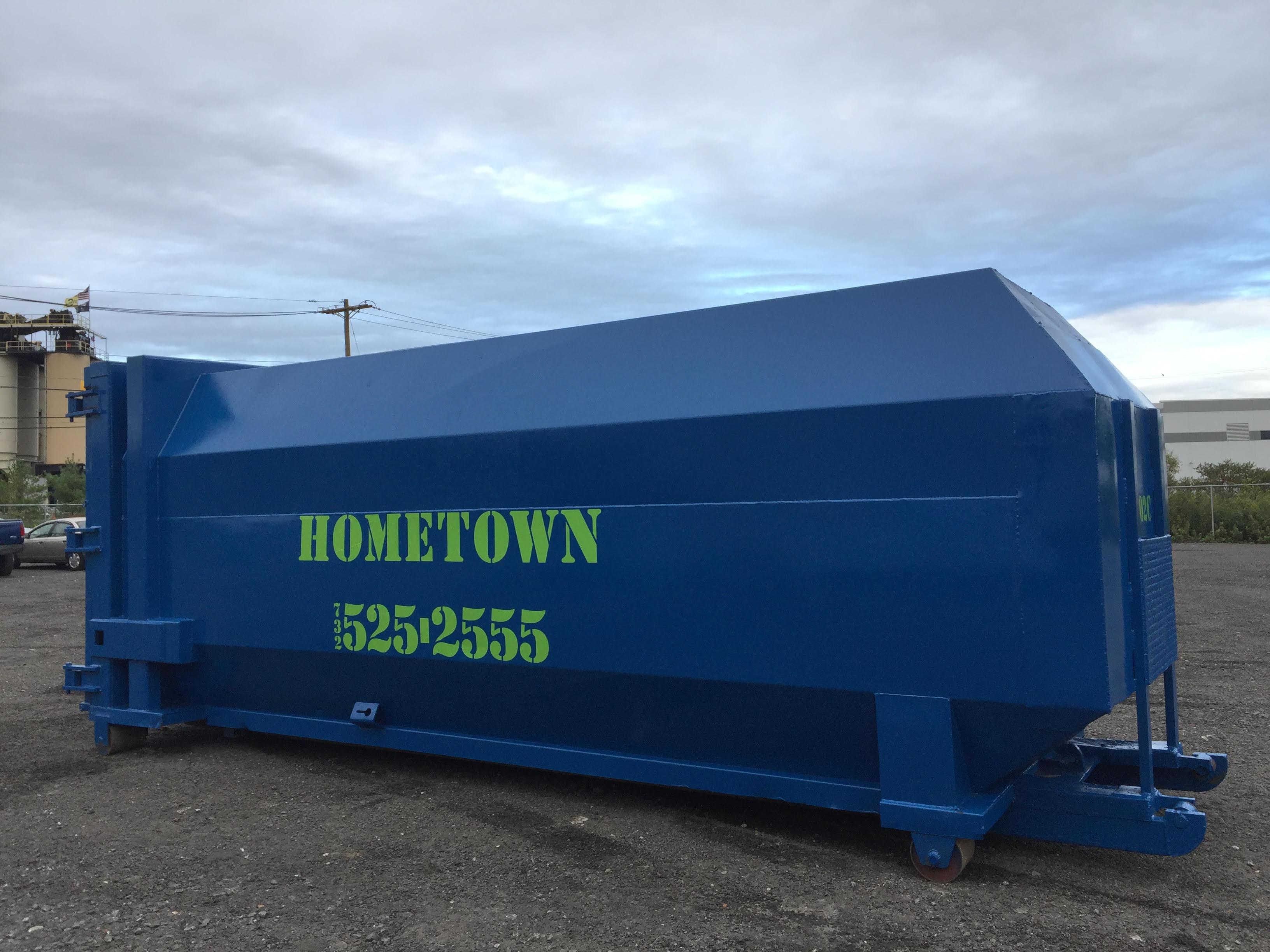 Trash Compactors In Nj Buy Rent Or Lease Hometown Waste