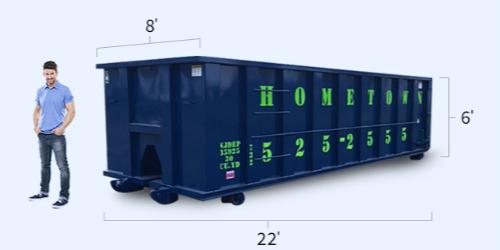 30 Yard Dumpsters: