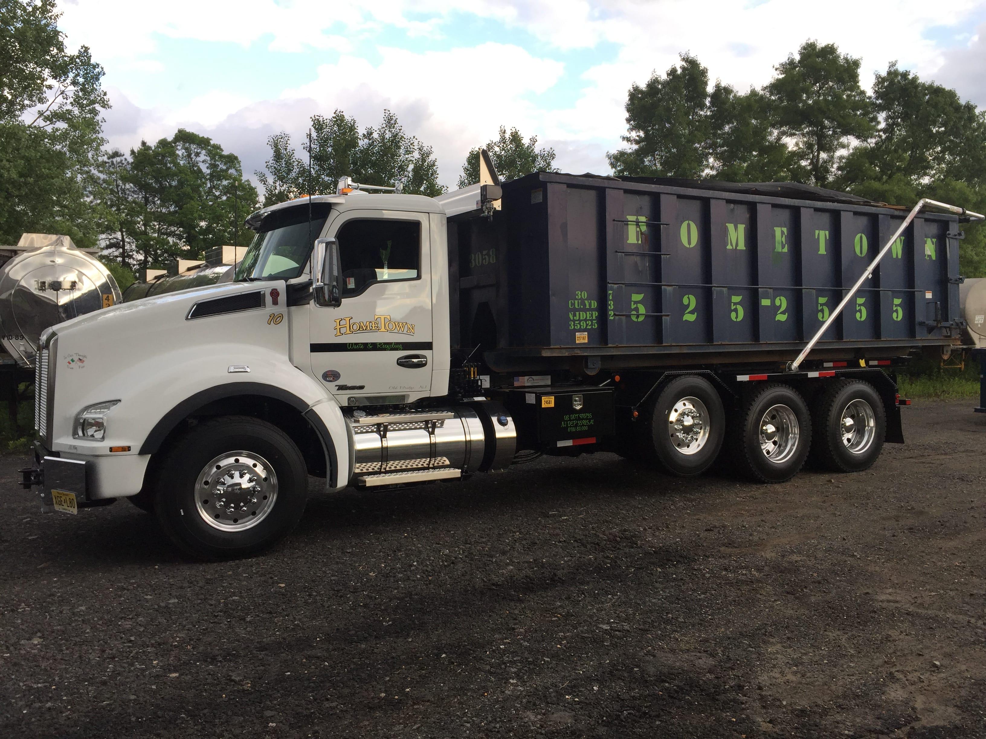 30 Yard Dumpster Rentals in NJ | Large Dumpsters | Hometown