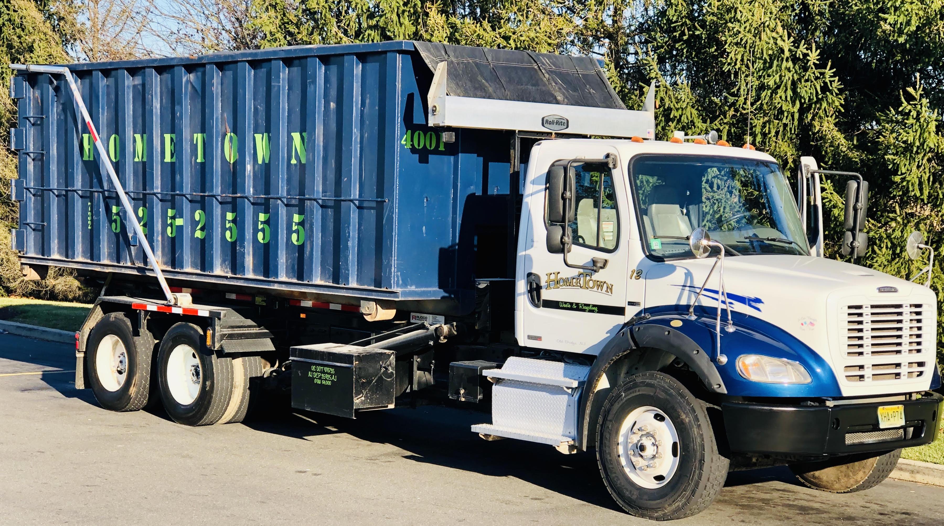 40 yard dumpster rental in Burlington County, NJ